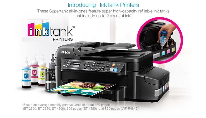Ink Tank Printers