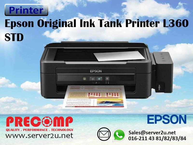Epson Original Ink Tank Printer L360