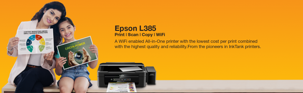 Wifi Printer Epson L385